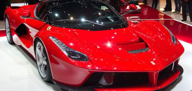 Check-out 5 of the world's most expensive cars!
